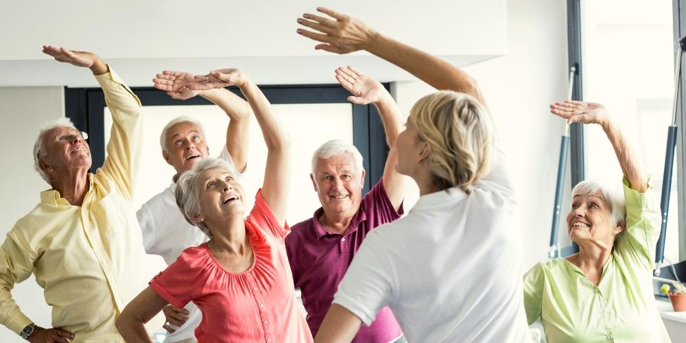 Group exercise activities - Care For Family Blog