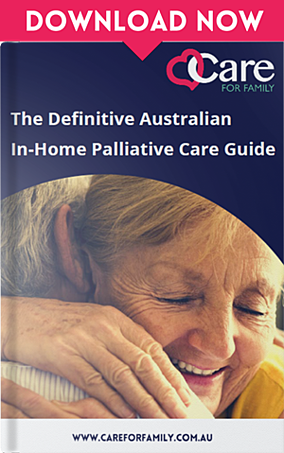 Palliative Care eBook Front Cover: The Definitive Australian In-Home Palliative Care Guide