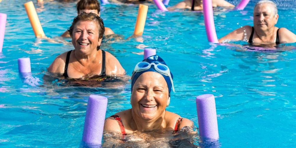 Swimming and aqua aerobics - Care For Family - Blog
